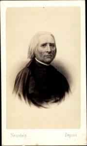 Carte de Visite Komponist Franz Liszt