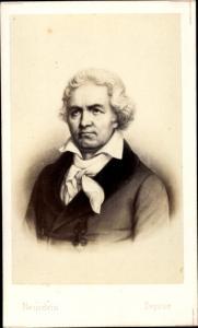 Carte de Visite Komponist Ludwig van Beethoven