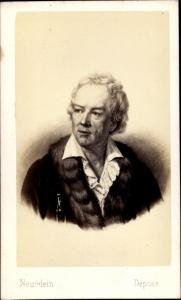 Carte de Visite Komponist Friedrich Glück