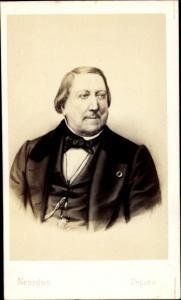 Carte de Visite Komponist Gioachino Rossini