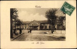 Ak Corbeil Essonne, La Gare