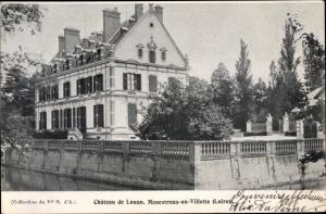 Ak Ménestreau-en-Villette Loiret, Chateau de Louan