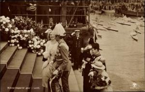 Ak Frederik von Dänemark, Ingrid von Schweden