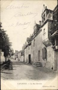 Ak Lavardin Loir et Cher, Rue Barrière