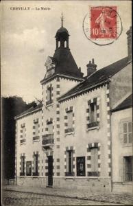Ak Chevilly Loiret, La Mairie