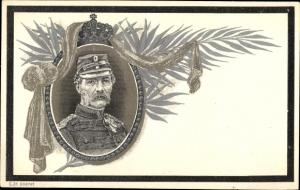 Passepartout Ak König Christian IX von Dänemark, Portrait