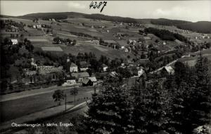 Ak Oberrittersgrün Breitenbrunn Erzgebirge, Totale