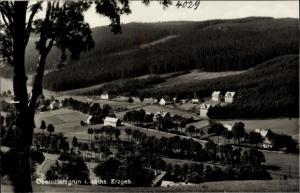 Ak Oberrittersgrün Breitenbrunn Erzgebirge, Teilansicht