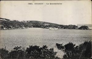 Ak Sydney Australien, La Quarantaine