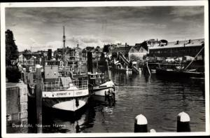 Ak Dordrecht Südholland Niederlande, Nieuwe Haven
