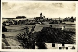 Ak Zeddam Gelderland Niederlande, Blick auf den Ort