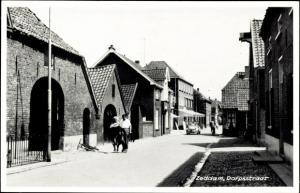 Ak Zeddam Gelderland Niederlande, Dorpsstraat
