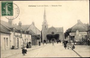 Ak Chitenay Loir-et-Cher, Grande Rue
