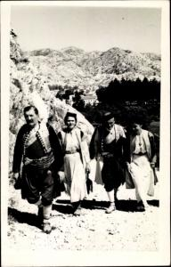 Foto Ak Crnogorska narodna nosnja, Montenegrinische Tracht