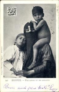 Ak Fellahine et ses enfants
