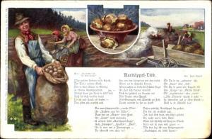 Lied Ak Schneider, Rud., Aardäppel Lied, Kartoffellese