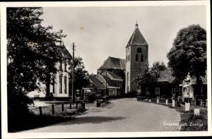 Ak Zeerijp Groningen, Kirche