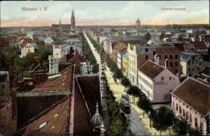 Ak Münster in Westfalen, Hammerstraße