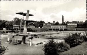 Ak Gladbeck im Ruhrgebiet, Freibad