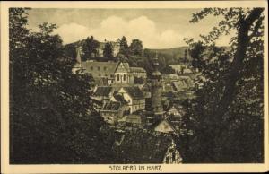 Ak Stolberg Südharz, Panorama