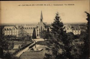Ak La Salle de Vihiers Maine et Loire, La Commmunaute, Vue generale