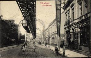 Ak Vohwinkel Wuppertal, Schwebebahn