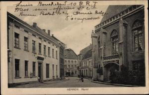 Ak Kempen am Niederrhein, Markt