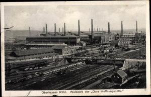 Ak Oberhausen im Ruhrgebiet, Walzwerk der Gute Hoffnungshütte