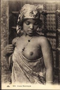 Ak Jeune Mauresque, Araberin, Busen, Maghreb