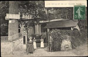 Ak Montlignon Val d'Oise, Le Bouquet de la Vallée, Restaurant
