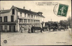 Ak Villiers-le-Bel Val-d´Oise, Maison Chappuy, À L´Espérance