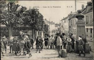 Ak Deuil Val d'Oise, Coin de la Fontaine