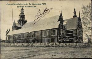 Ak Bruxelles Brüssel, Exposition Universelle, Section Hollandaise