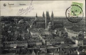 Ak Tournai Wallonien Hennegau, Panorama