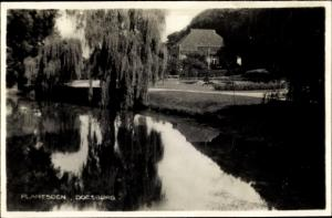Ak Doesburg Gelderland, Plantsoen