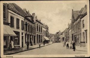Ak Doesburg Gelderland, Meipoortstraat