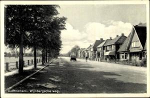 Ak Doetinchem Gelderland, Wijnbergsche weg