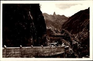 Ak Cilaos Réunion, Passage en encorbellement