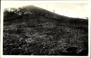 Ak Hell-Bourg Reunion, Le Volcan, Le piton Bory et la mer de laves