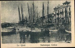 Ak Thessaloniki Griechenland, Le Quai