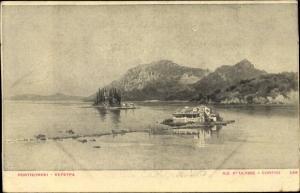 Ak Korfu Griechenland, Ile d'Ulysse