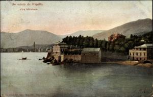 Ak Rapallo Liguria, Villa Miramare