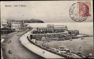 Ak Genova Genua Liguria, Lido d'Albaro