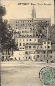 Ak Ventimiglia Liguria, Piazza Vittorio Emanuele