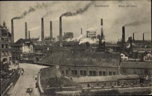 Ak Dortmund im Ruhrgebiet, Werke der Union