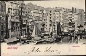 Ak Hamburg Mitte Altstadt, Dovenfleet