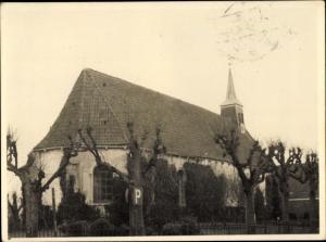 Foto Ak Visvliet Groningen, N. H. Kerk