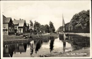Ak Ter Apel Groningen Hoofdkade, Binnenschiffe