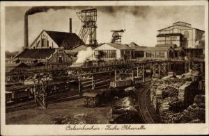 Ak Gelsenkirchen im Ruhrgebiet, Zeche Rheinelbe