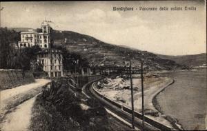 Ak Bordighera Liguria, Panorama della vallata Ersilia